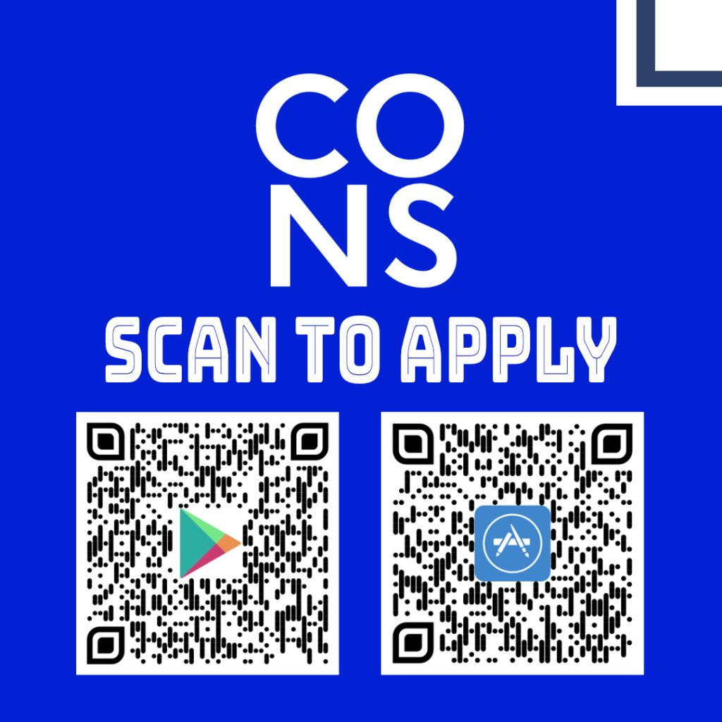 SCAN TO APPLY IG